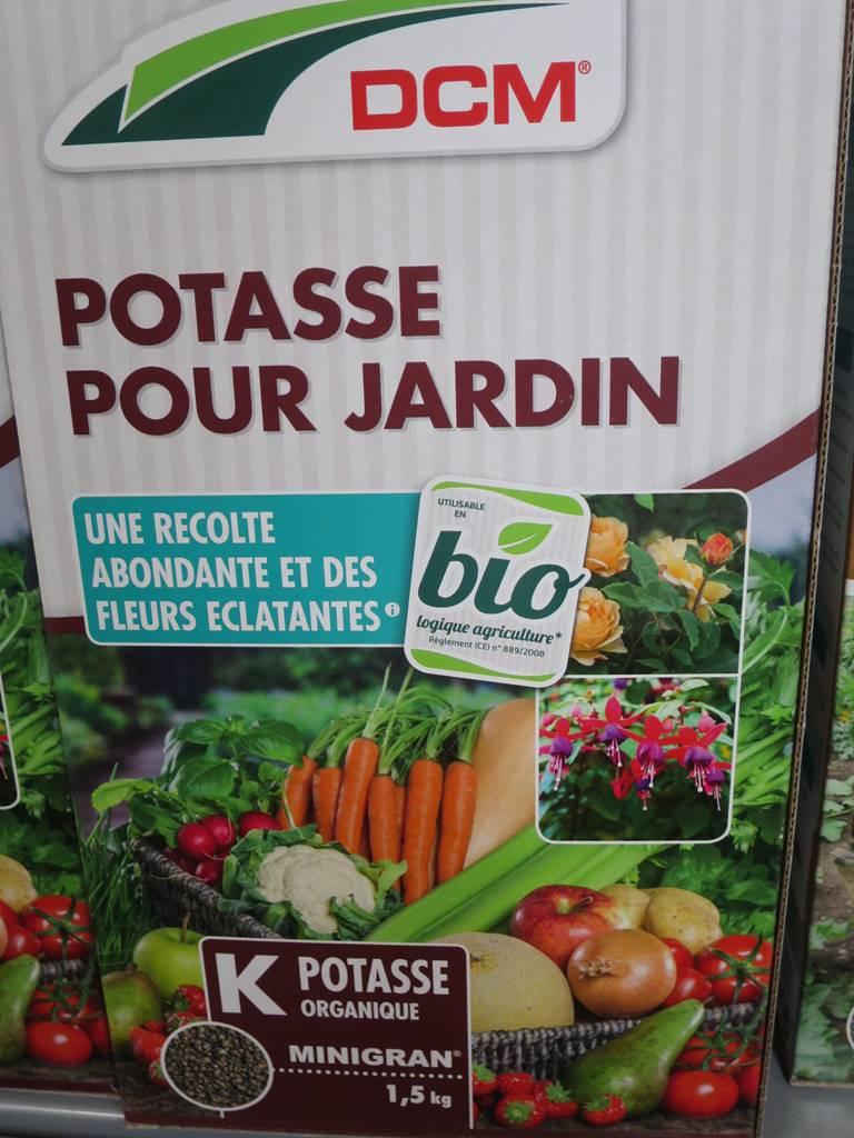 Potasse jardin