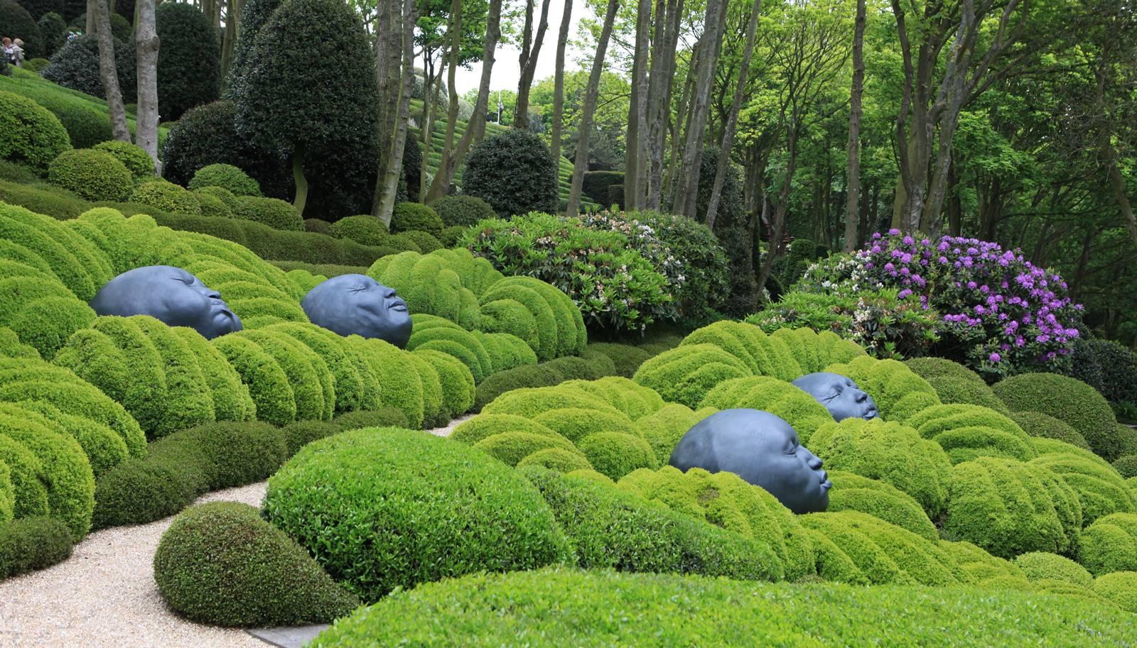 Jardin d'Etretat en Seine-Maritime