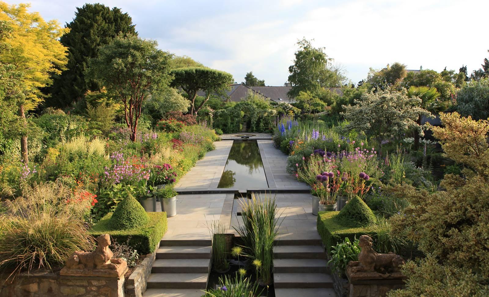 Jardin de Helen Dilon à Dublin