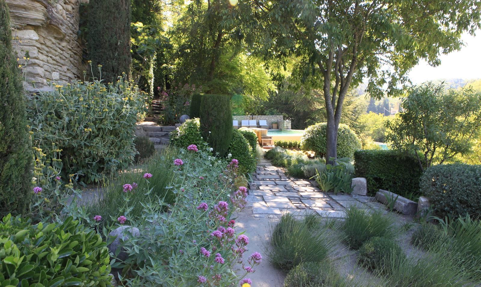 Jardin de la Louve à Bonnieux