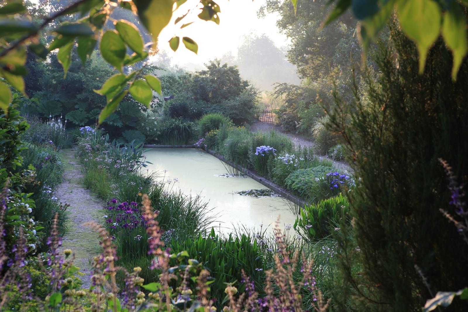 Jardin de la Pellerine en Mayenne
