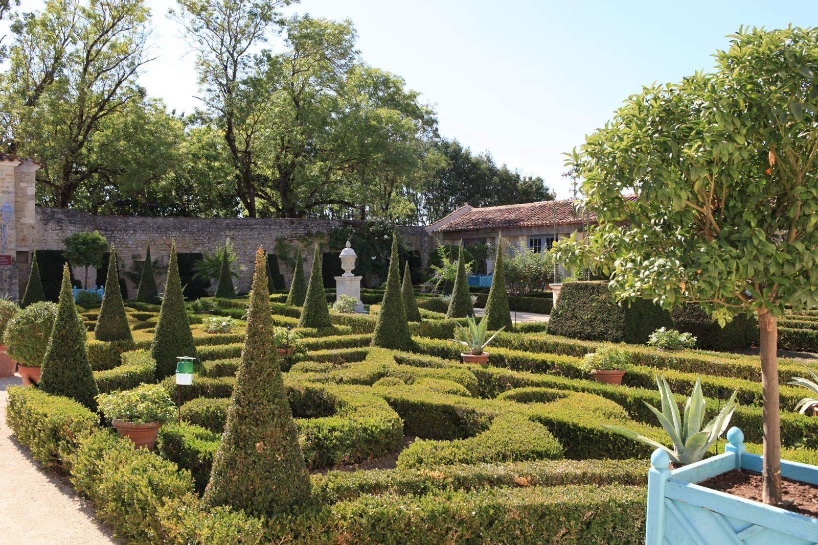 Jardin de William Christie à Thiré