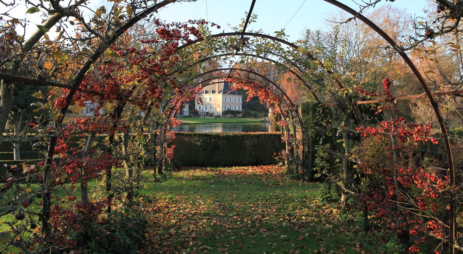 Jardin du Plessis Sasnière dans le Loir-et-Cher