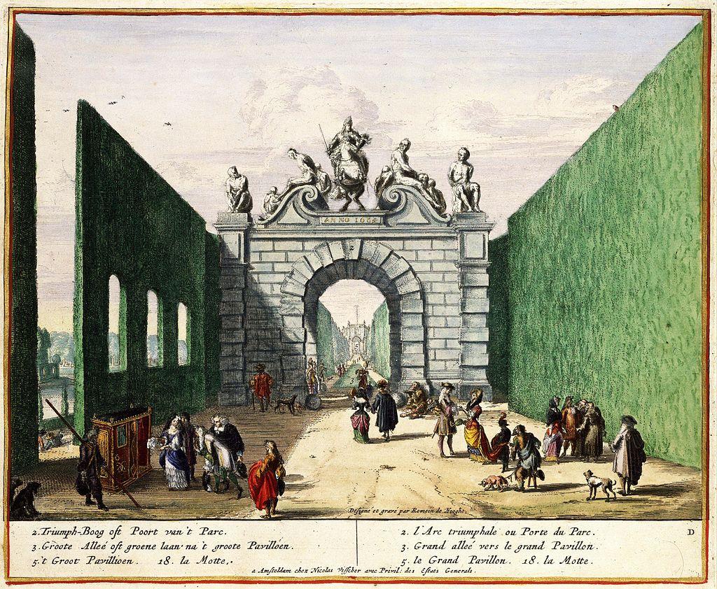 Portail des Slaves Domaine d'Enghien