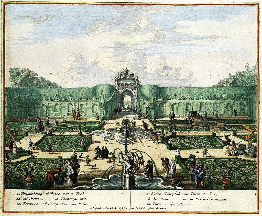 Jardins des Fleurs Parc d'Enghien