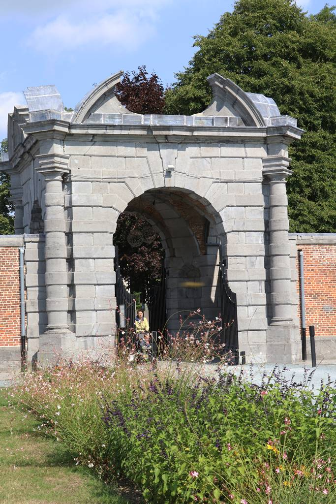 Portail d'entrée du Parc d'Enghien
