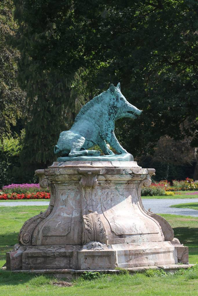 Sanglier de Florence Parc d'Enghien