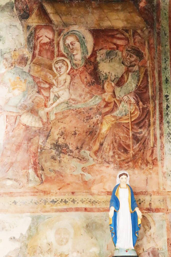 Gracisce fresque de Sv Marija na placu