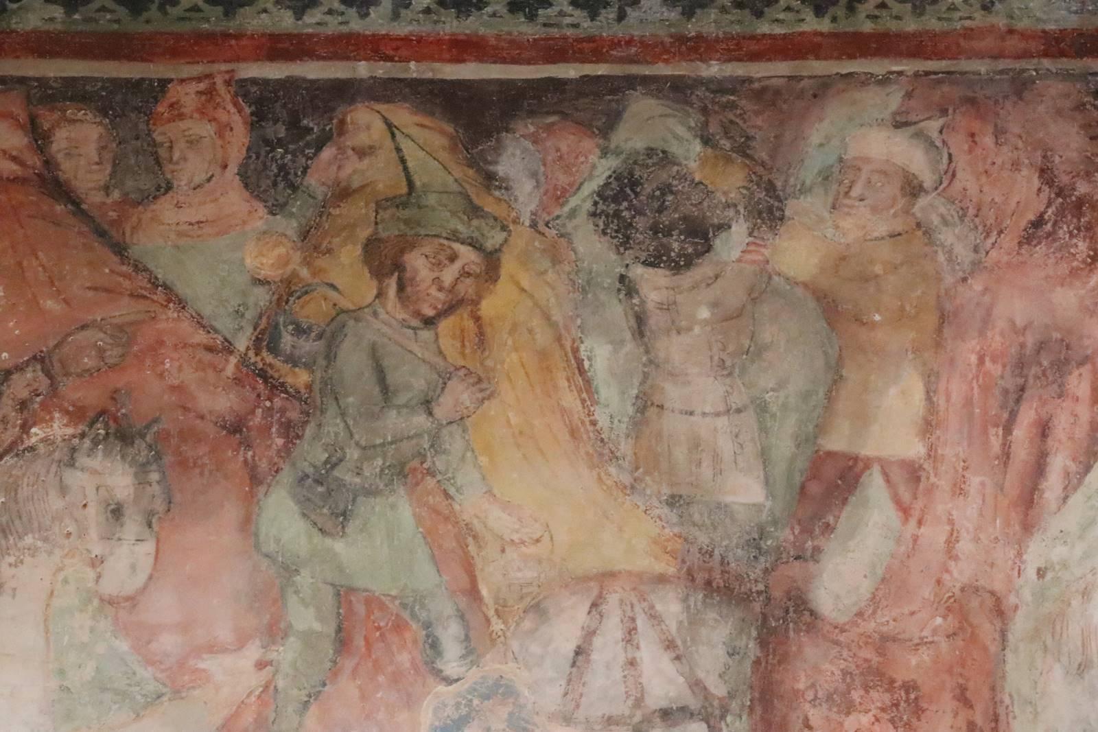 Gracisce fresques de Sv Marija na placu