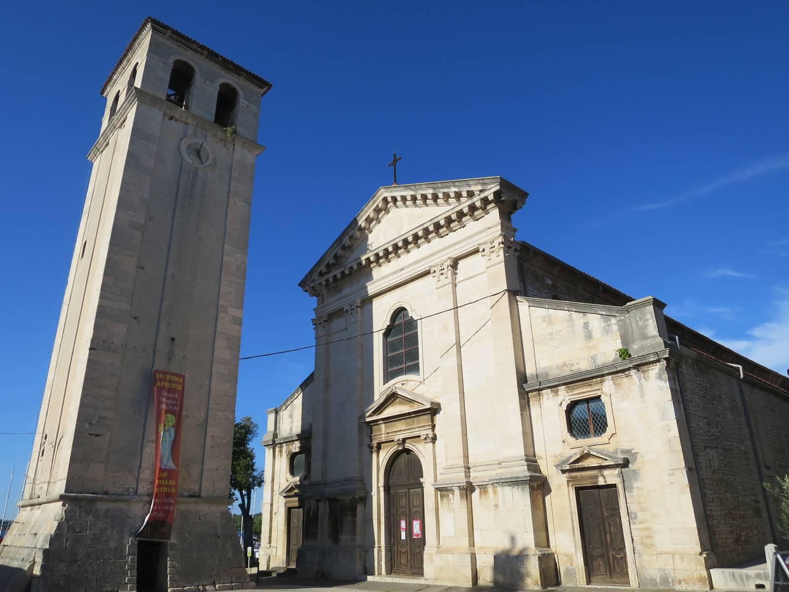 Pula cathédrale Ste Marie