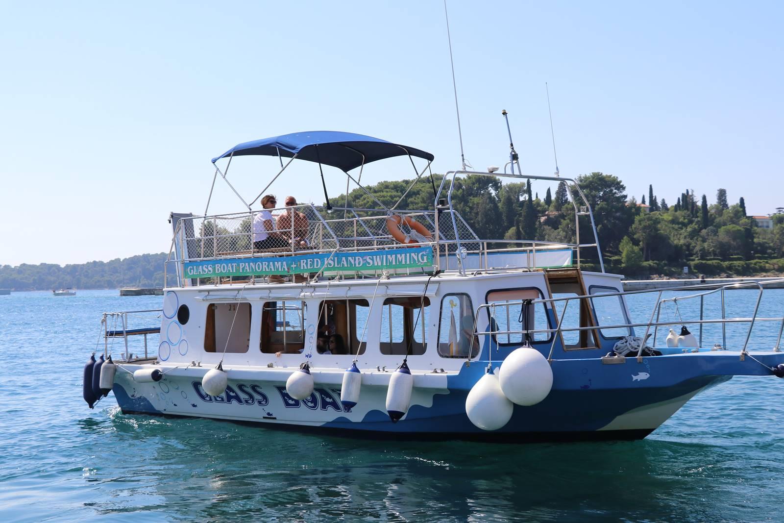 Rovinj tour en bateau