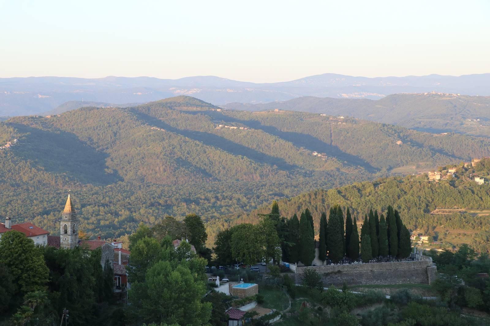 Villages perchés de l'Istrie