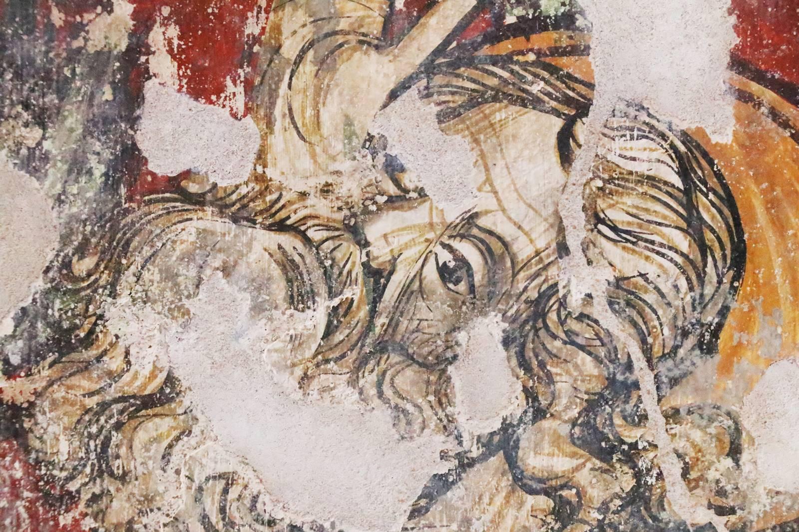 Fresques de l'Istrie Croatie