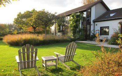 L'automne dans le jardin de Carine et Vincent