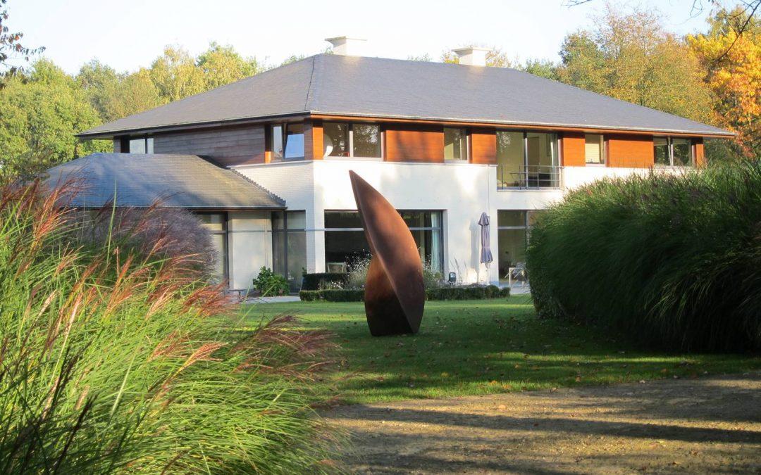 Un jardin d'architecte