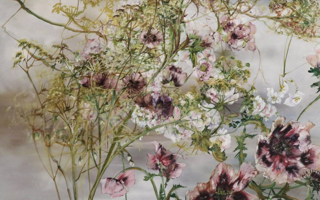 Claire Basler, peintre de fleurs