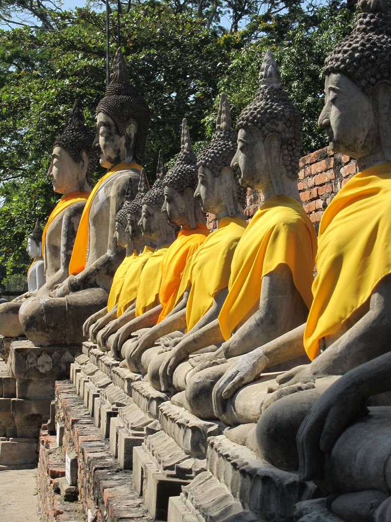 Ayutthaya Wat Phra Si Sanphet (7)