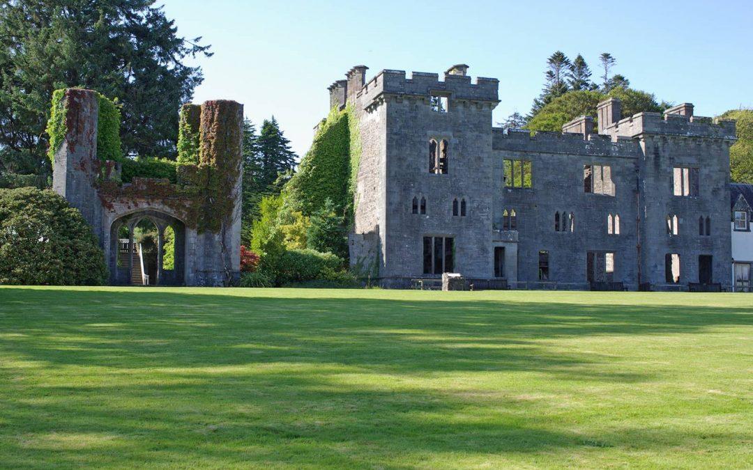Le château d'Armadale en Ecosse