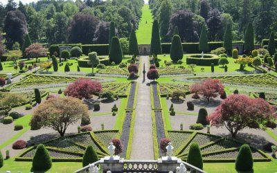 Les jardins en terrasses de Drummond