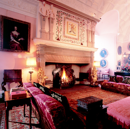 Glamis Castle Drawing Room