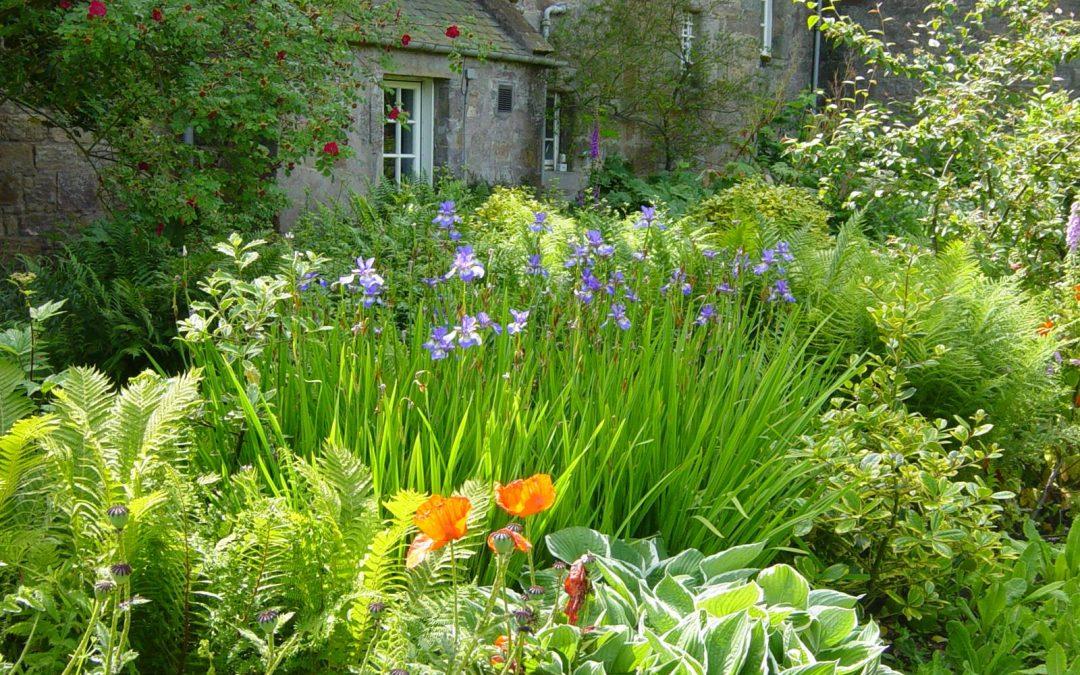 Le jardin du château de Kellie en Ecosse
