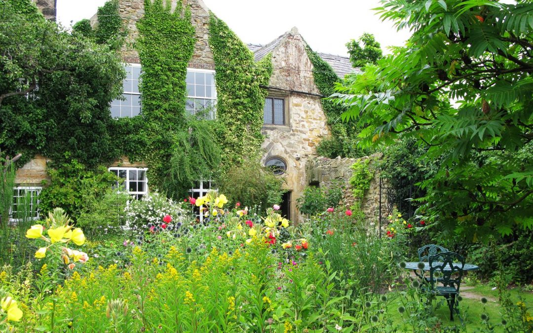 Crook Hall, cottage garden
