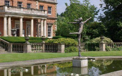 Newby Hall, un manoir et des jardins