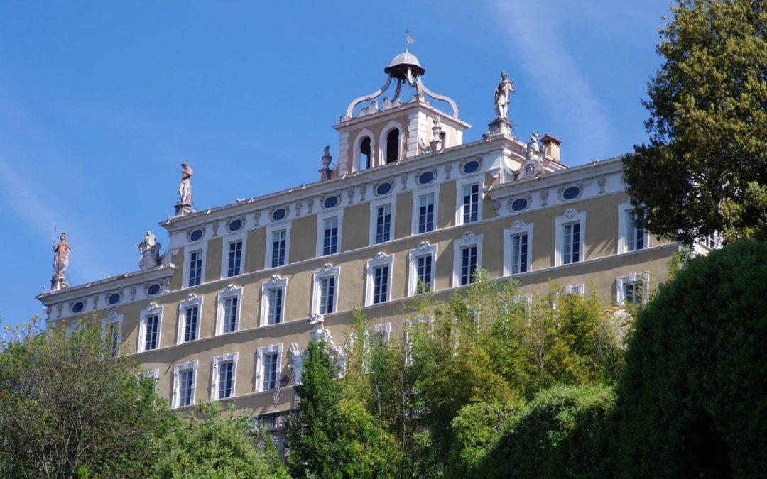 Les jardins baroques de la Villa Garzoni, Toscane