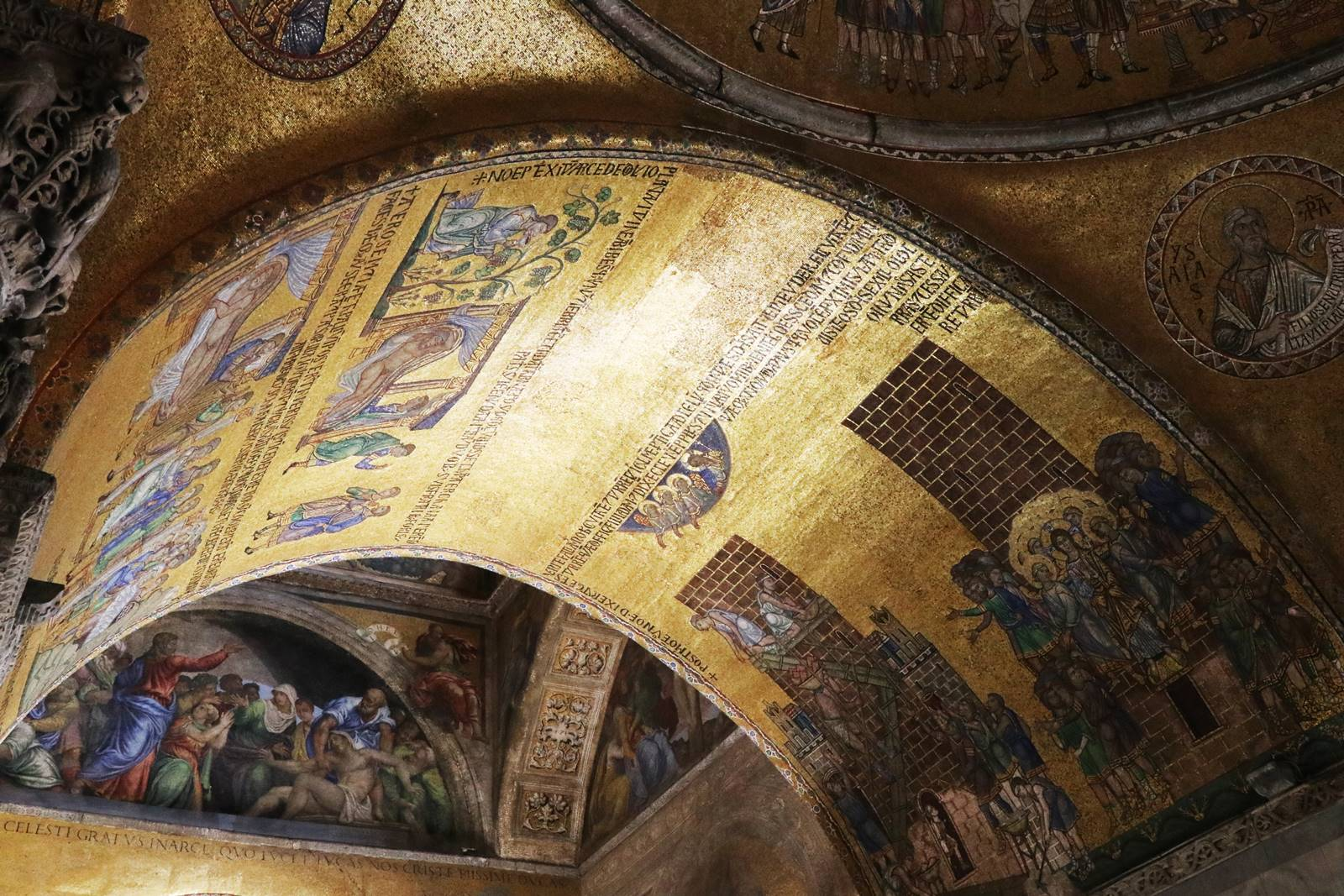 3 mosaïques de la Basilique Saint-Marc (7)