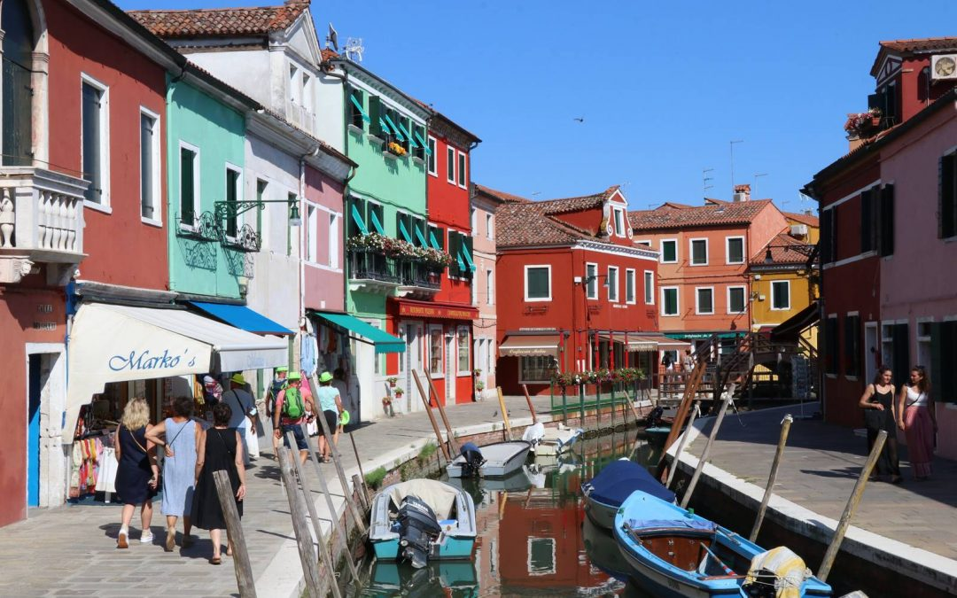 Murano, Burano, Torcello, les îles de la lagune de Venise