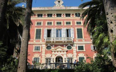 Le parc de la Villa Durazzo, Ligurie