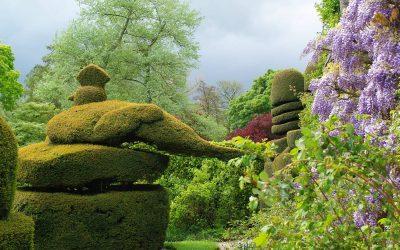 Les jardins et manoirs du Derbyshire