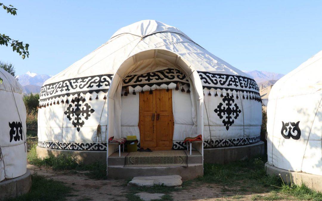 Dormir en yourte au Kirghizistan