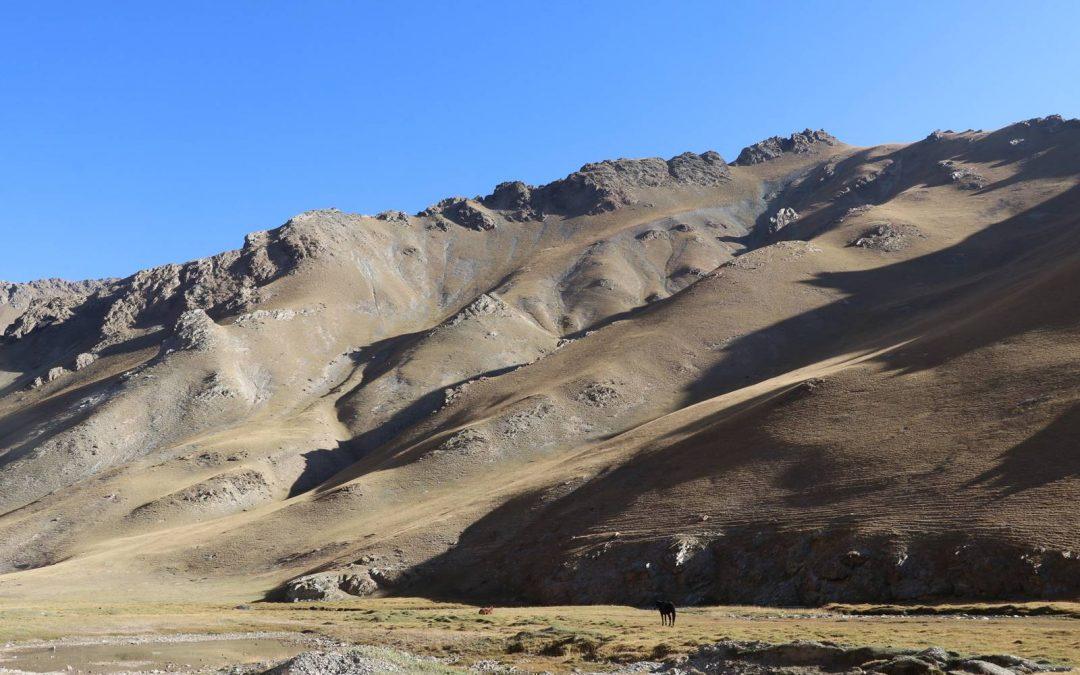 Les montagnes du Kirghizistan